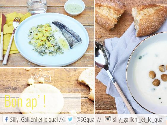 Déjeuner Pop Chef @Silly, Gallieni et le quai