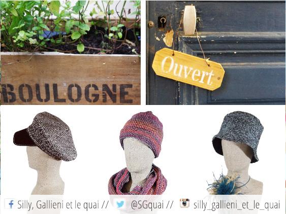 Solde sur le chapeaux @Silly, Gallieni et le quai