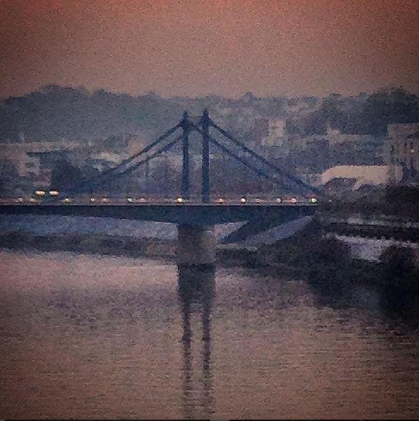 Le pont de l'ile Seguin @Silly, Gallieni et le quai