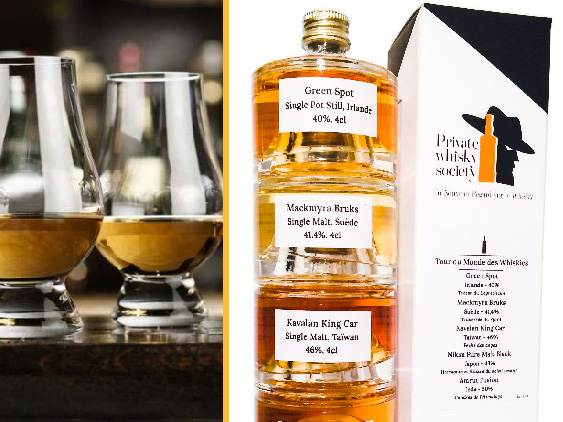 Private whisky society @Silly, Gallieni et le quai