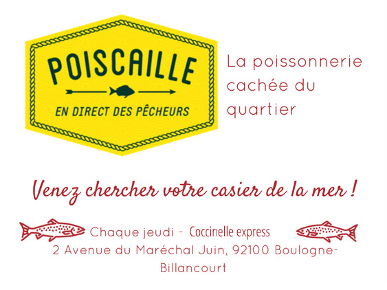 Exclusif les paniers de poisson ultra frais accostent for Acheter poisson rouge boulogne billancourt