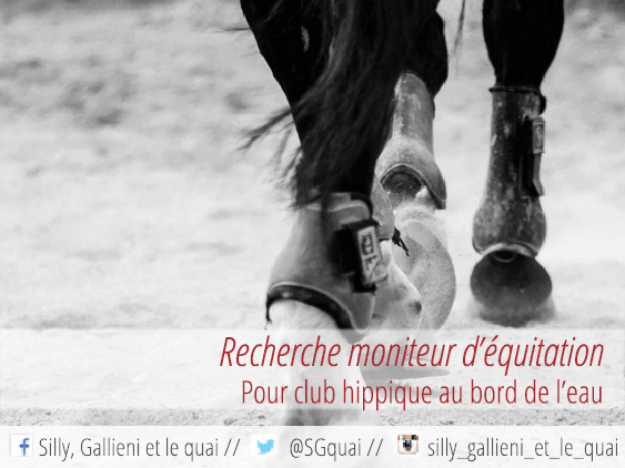 ACBB équitation @Silly, Gallieni et le quai
