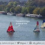 GRATUIT. Expérience voile sur la Seine