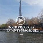 VIDÉO. De Boulogne à la Tour Eiffel en bateau
