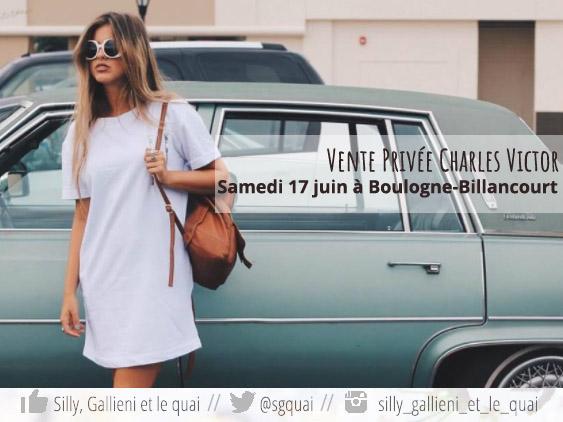 Lancement de la marque Charles Victor en France @Silly, Gallieni et le quai