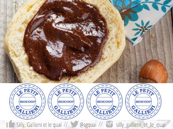 La pâte à tartiner bio avec Biocoop Le Petit Gallieni @Silly, Gallieni et le quai