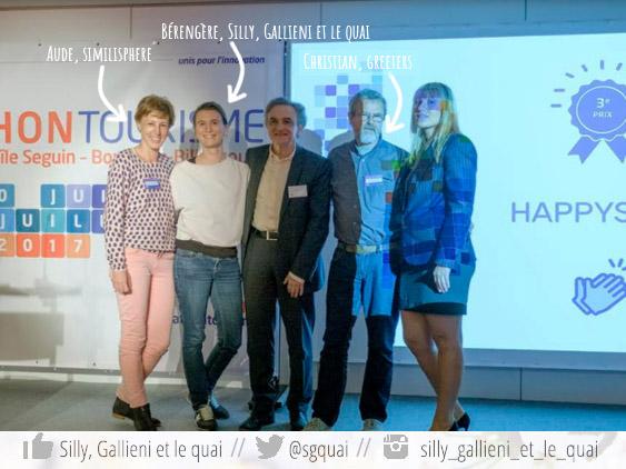 L'équipe Happy Seine @Silly, Gallieni et le quai
