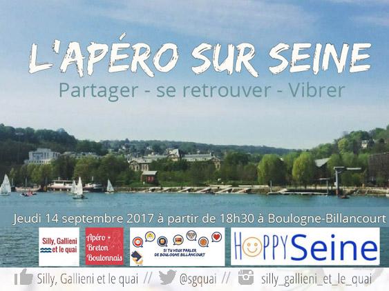 Apéro sur Seine @Silly, Gallieni et le quai