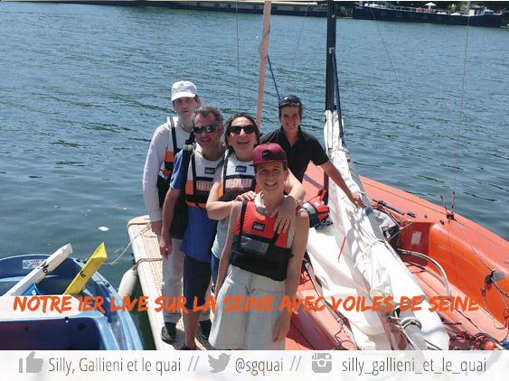Un moment de pur bonheur sur l'eau @Silly, Gallieni et le quai