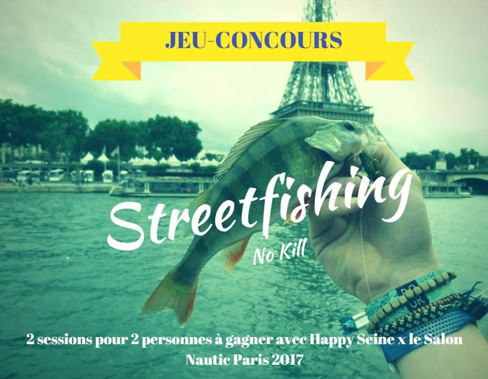 Jeu-concours street-fishing @Silly, Gallieni et le quai