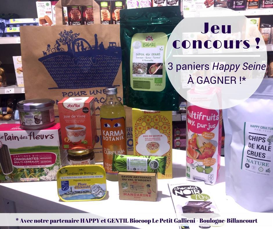 Jeu-concours Biocoop Le Petit Gallieni