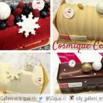 SAVEURS COSMIQUES. Les bûches de Noël de la pâtisserie Cerise