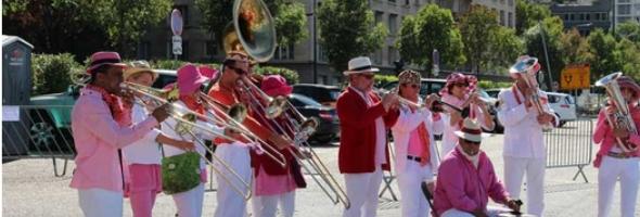La fanfare - édition 2013 de la fête du quai