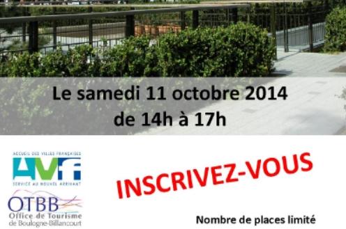 Samedi 11 octobre à 14h00 sur le parvis de la mairie