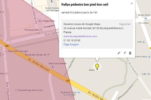 Rallye pédestre : rendez-vous sur le parvis de la mairie