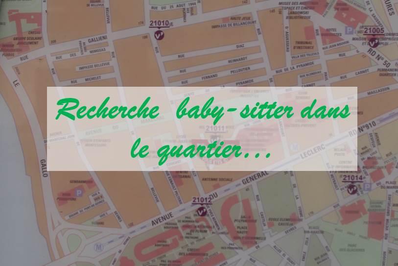 Trouver une baby-itter dans le quartier Silly-Gallieni