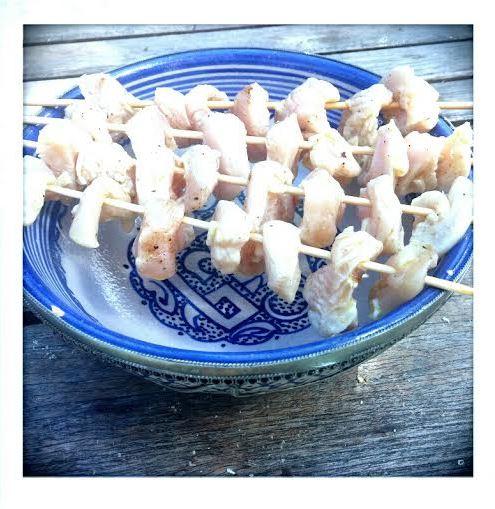 Les brochettes de poulet - coccinelle express