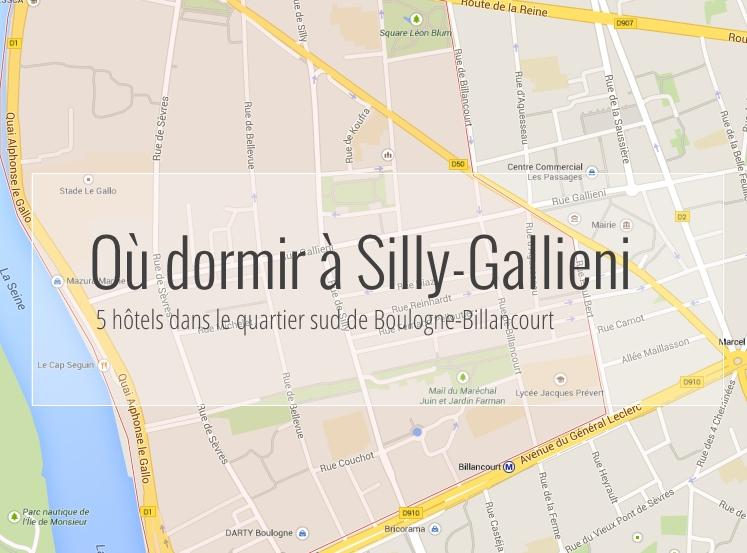 5 hôtels dans le quartier de Silly-Gallieni