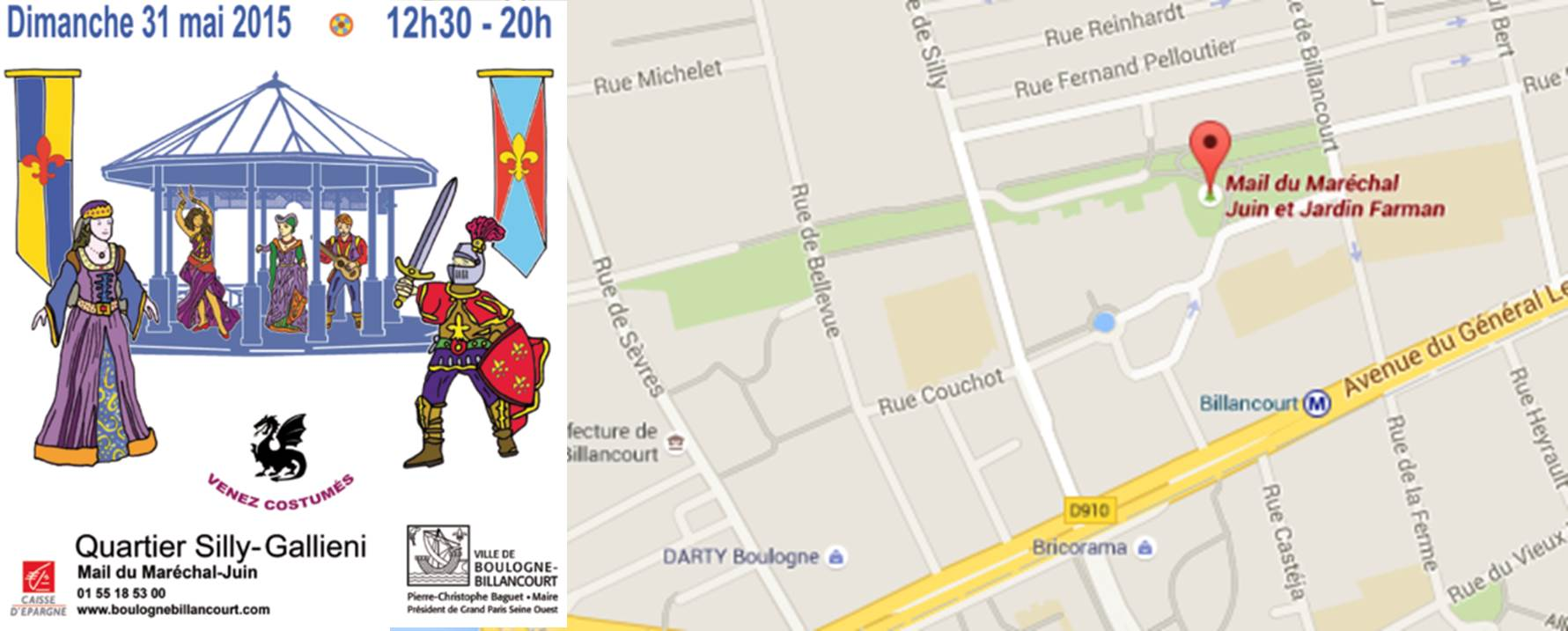 La Fête des cigales : Silly-Gallieni au rythme du médieval