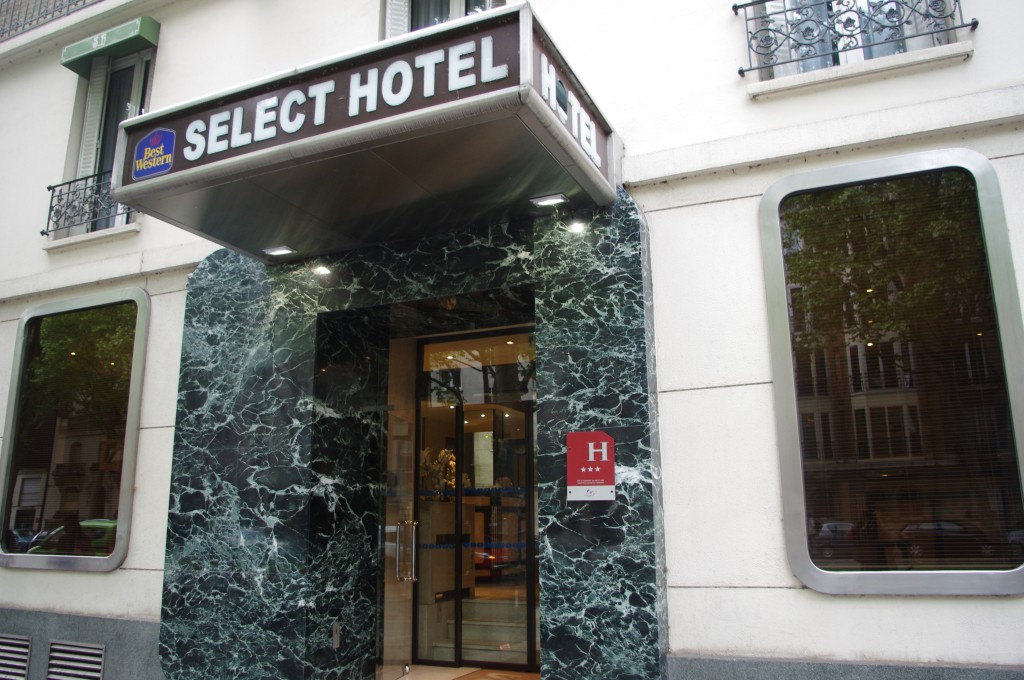Select Hotel @silly, gallieni et le quai