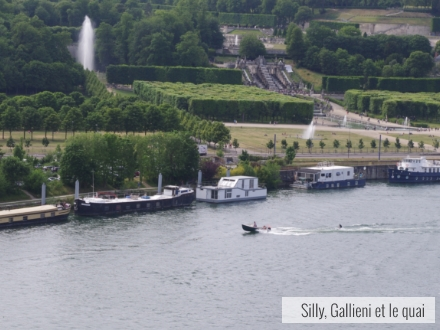 Ski nautique sur la Seine @Silly, Gallieni et la Seine