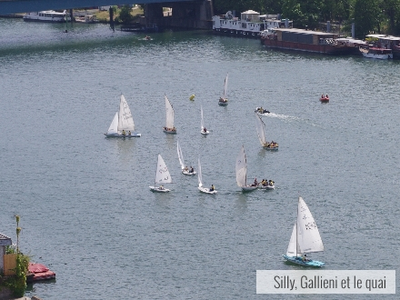 Fête du nautisme à Boulogne-Billancourt @Silly, Gallieni et le quai