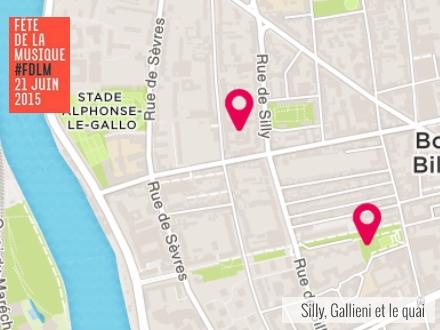 Fête de la musique 2015 : pop, rock, jazz et piano dans le quartier Silly-Gallieni
