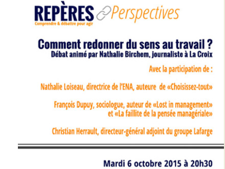 Repères et perspectives : lancement d'un cycle de conférences à Boulogne-Billancourt