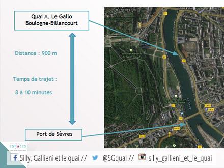 Trajet du Passeur de Seine @Espaces