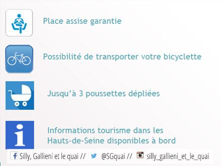 Les services de Passeur de seine  @Espaces