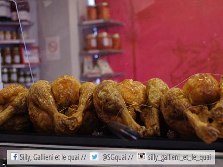 Le poulet fermier de la boucherie Didier @Silly, Gallieni et le quai
