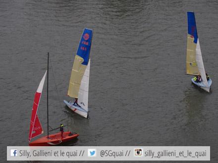 Voiles en Seine 2015 : le plan d'eau @Silly, Gallieni et le quaiVoiles en Seine 2015 : le plan d'eau @Silly, Gallieni et le quai