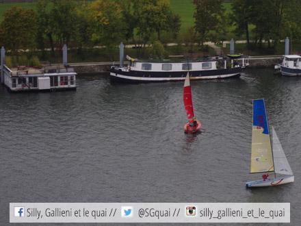 Voiles en Seine 2015 @Silly, Gallieni et le quai
