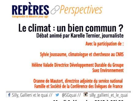 Repères et Perspectives - Le climat : un bien commun ? @Silly, Gallieni et le quai
