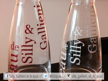 Carafe Eau de Silly et Gallieni @Ma série limitée