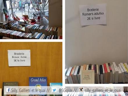 Braderie de livres à la Bibliothèque Pour Tous