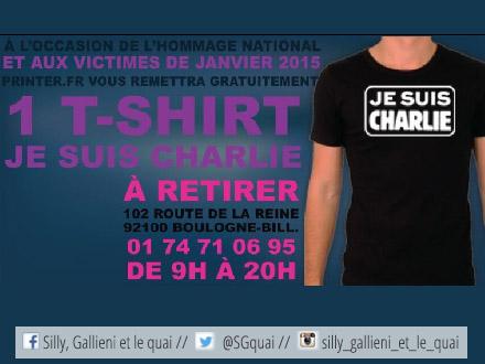 Hommage aux victimes des attentats de 2015 avec Printer.fr
