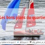 Naviguez gratuitement sur la Seine à Boulogne-Billancourt. C'est gratuit et c'est dans notre quartier !