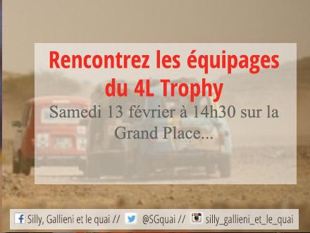 4L Trophy à Boulogne-Billancourt @Silly, Gallieni et le quai