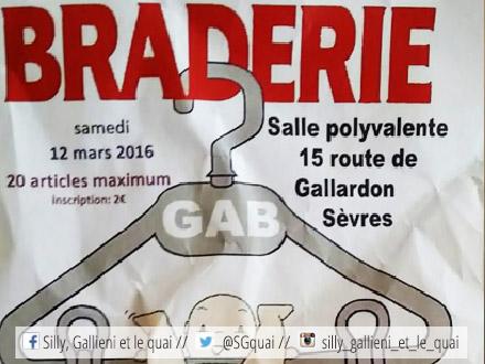 Braderie de vêtements à Sèvres @Silly, Gallieni et le quai