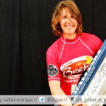 Marine Hunter : une windsurfeuse à  Boulogne. Étonnant ? Elle est notre voisine de quartier et elle nous raconte son incroyable projet !
