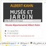Musée-Jardins Albert Kahn : Journée portes ouvertes