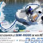 Boat en Seine : 1er  salon parisien d'essais de bateaux semi-rigides