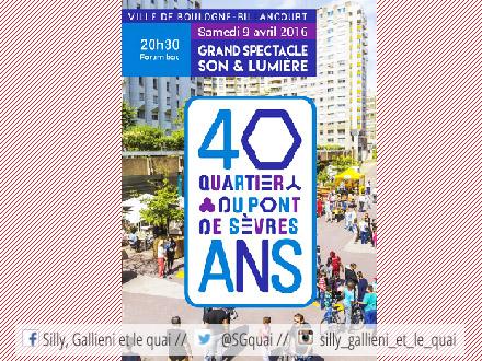 40 ans du Pont de Sèvres @Silly, Gallieni et le quai