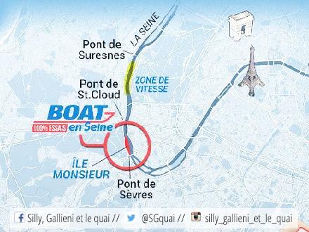 Boats en Seine 2016 @Silly, Gallieni et le quai