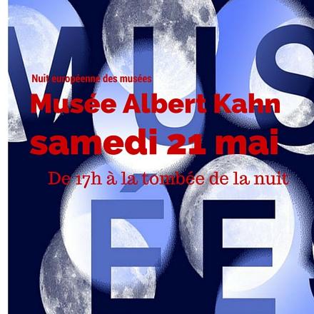 Nuit européenne des musées au musée Albert Kahn