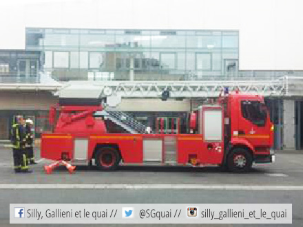 Caserne des pompiers @Silly, Gallieni et le quai