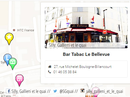 Bar Tabac Le Bellevue @Silly, Gallieni et le quai
