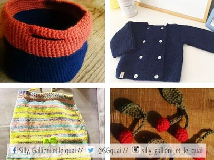 Les apéros tricot @Silly, Gallieni et le quai