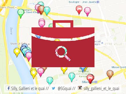 Offre d'emploi dans le quartier @Silly, Gallieni et le quai